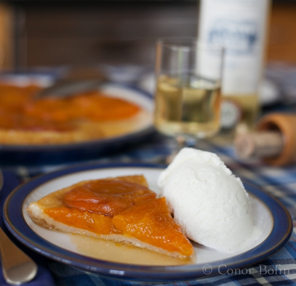Apricot Tart Tatin