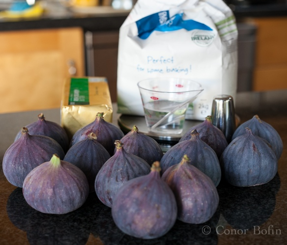 The ingredients shot involves loads of figs. Too many figs, in fact.