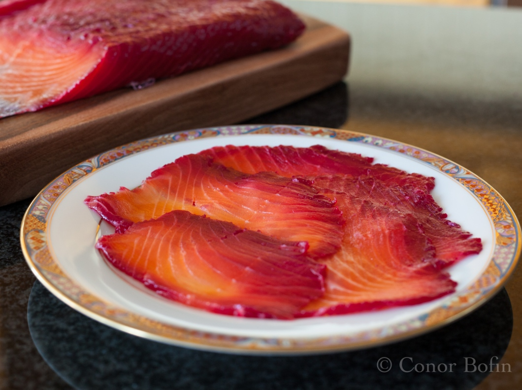 Gravadlax with Beetroot and Ginger (4 of 6)